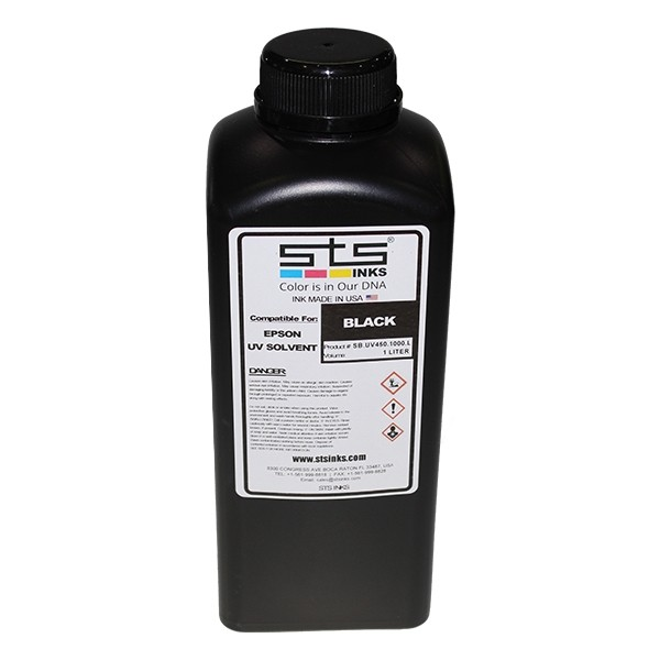 Tinta UV Cure LED 450 Negro