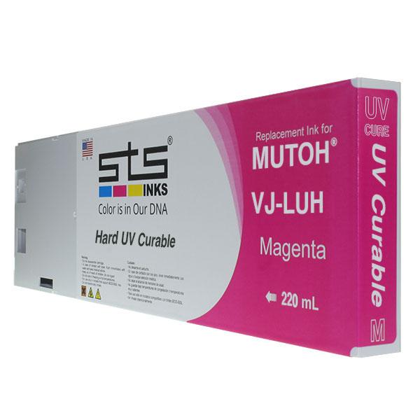 Cartucho de repuesto para Mutoh UV Cure Magenta 220 mL VJ-LUH1-CY220